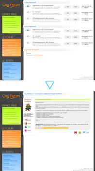Forum interface
