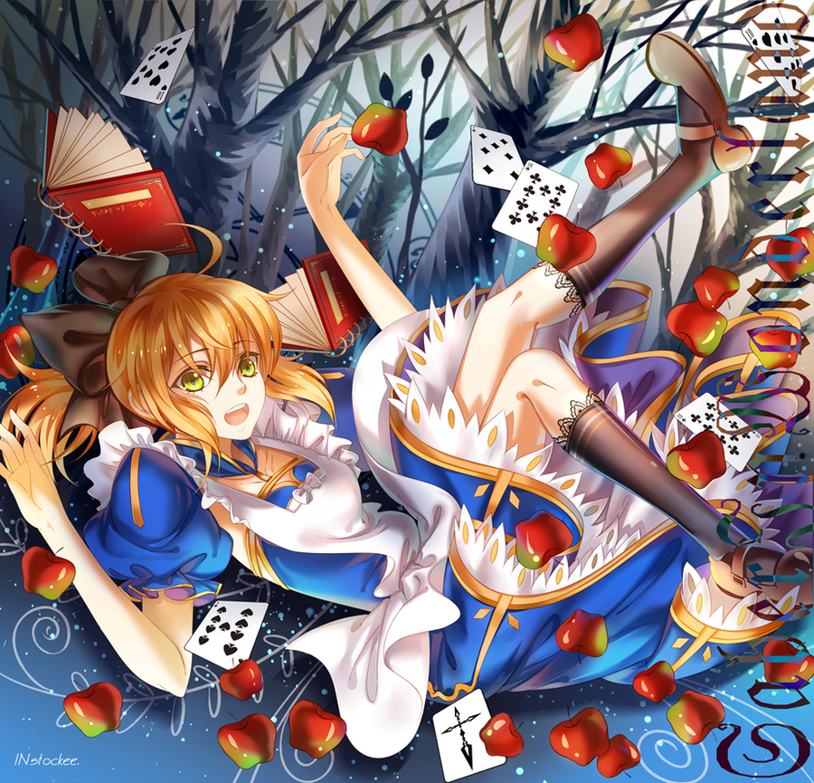 Saber In Wonderland by INstockee