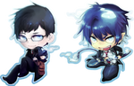 Blue Exorcist - Rin - Yukio by linedup