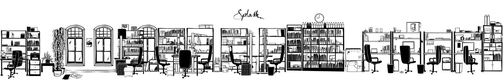 Splash studio illustration by inCubetion