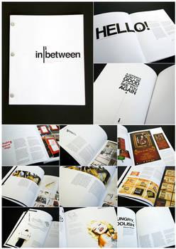 inbetween - portfolio book