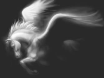Pegasus, fading by SMcNonnahs