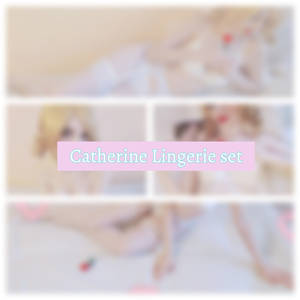 Catherine lingerie set is now available on my kofi
