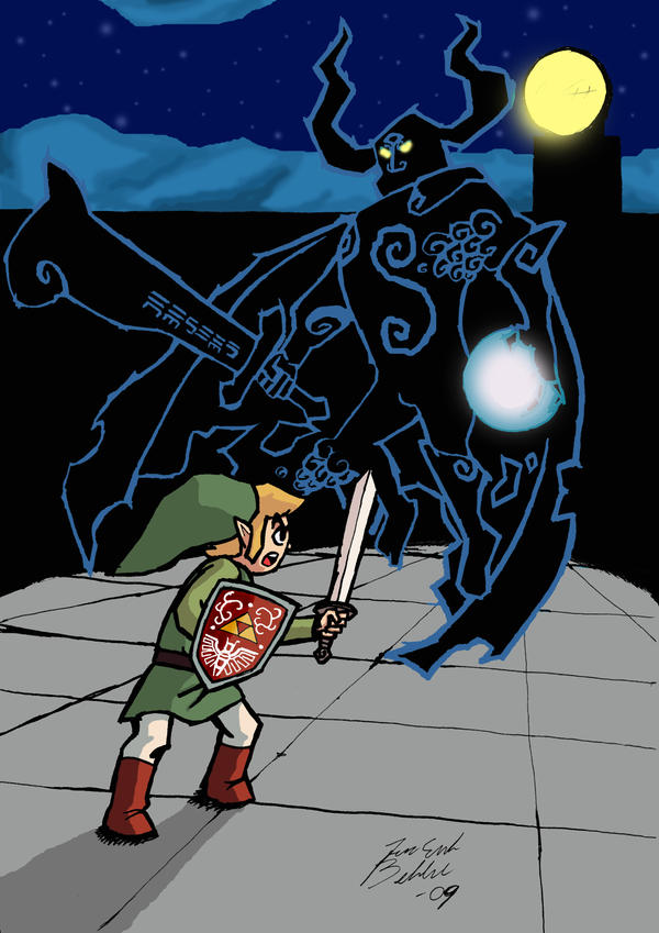 Link vs Phantom Gannon by onimadness