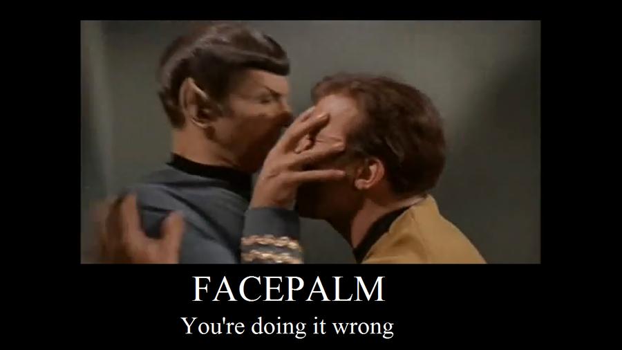 Deviantart Starfleet Captains Tylan Schan: Star Trek Facepalm Fail By Kutpuppy27 On DeviantArt