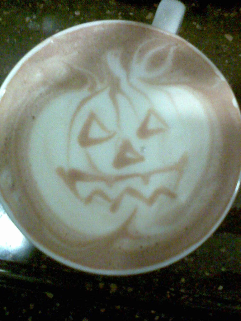 Jack-O-Latte by LollipopNightmare