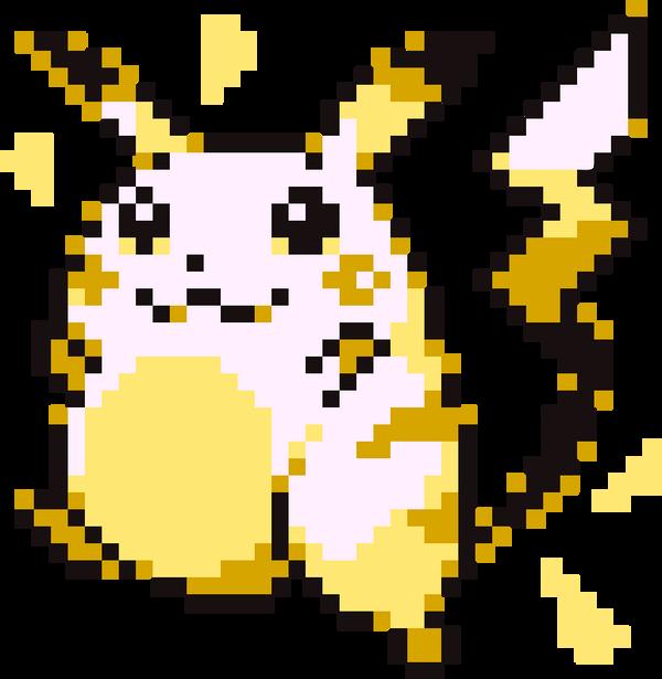 Pikachu sprite by kriss80858 on DeviantArt