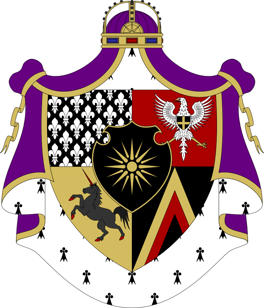 Greater Imperial Coat Of Arms Of Nilfgaard By Kriss80858