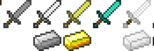 Minecraft Swords by kriss80858