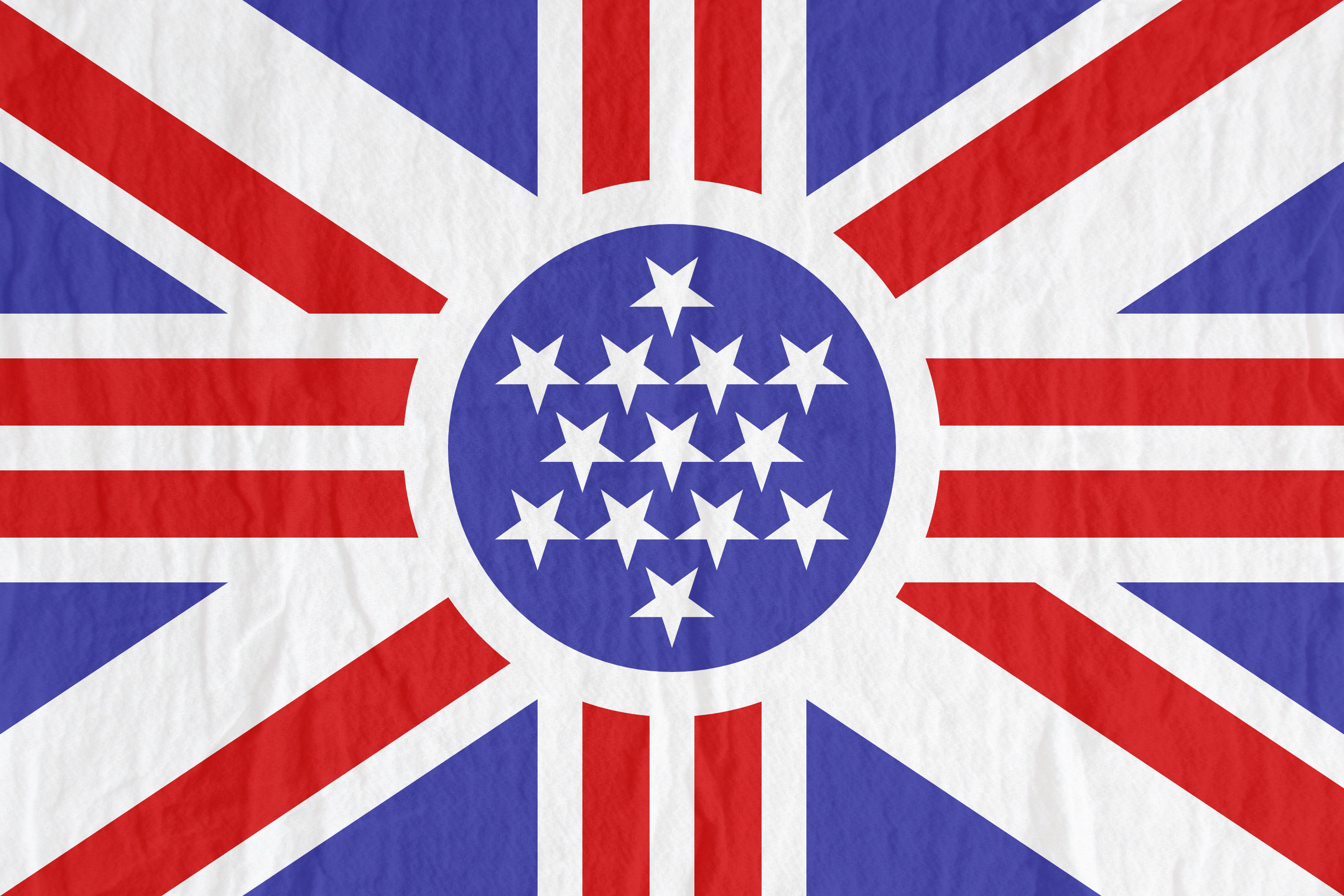Flag Of The United Province British America By Kriss80858