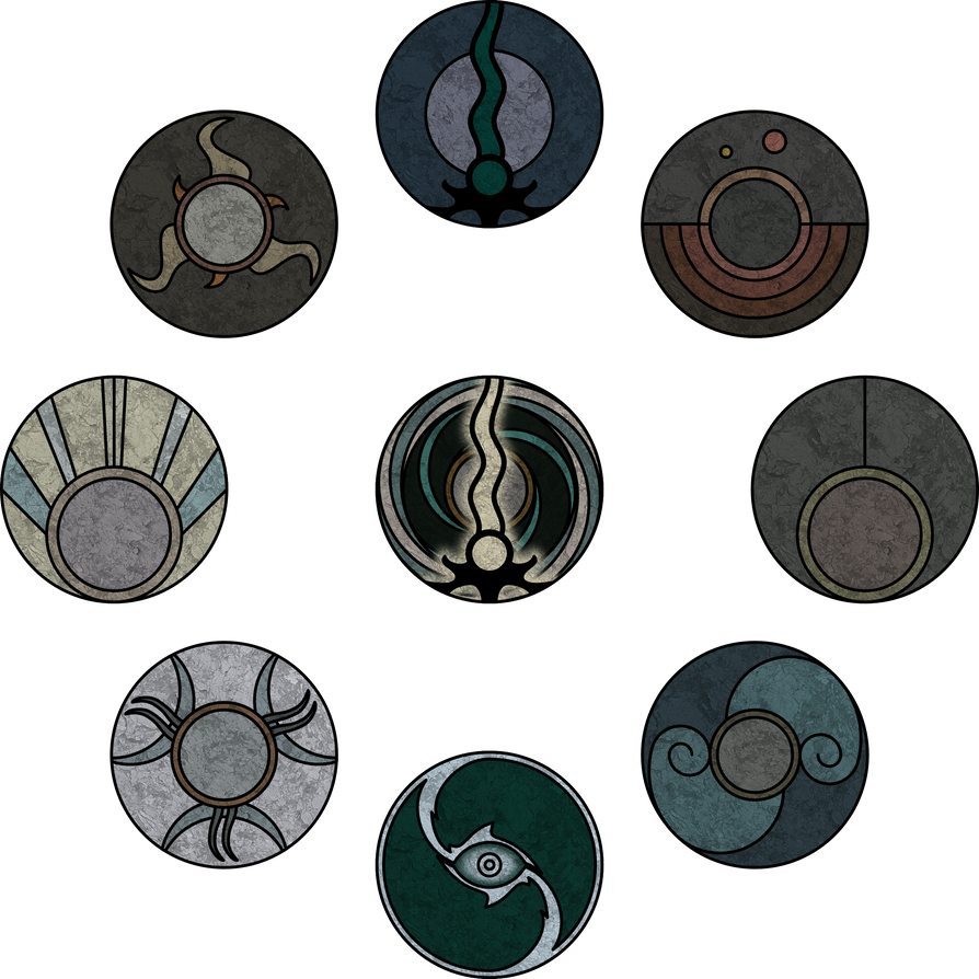 Reaver Symbols From Legacy Of Kain Defiance By Kriss80858 On Deviantart