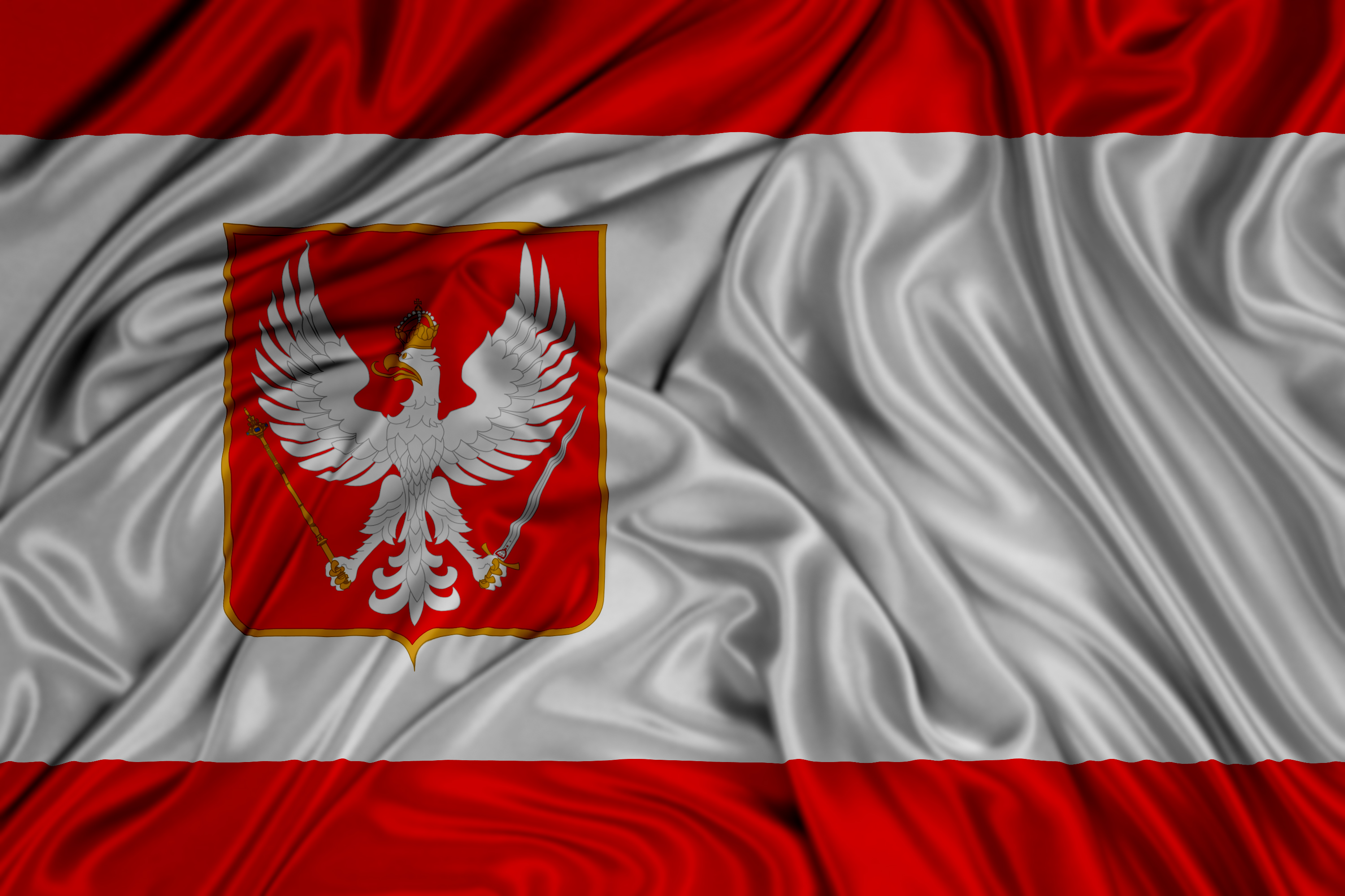 flag of the kingdom of poland by kriss80858 on deviantart