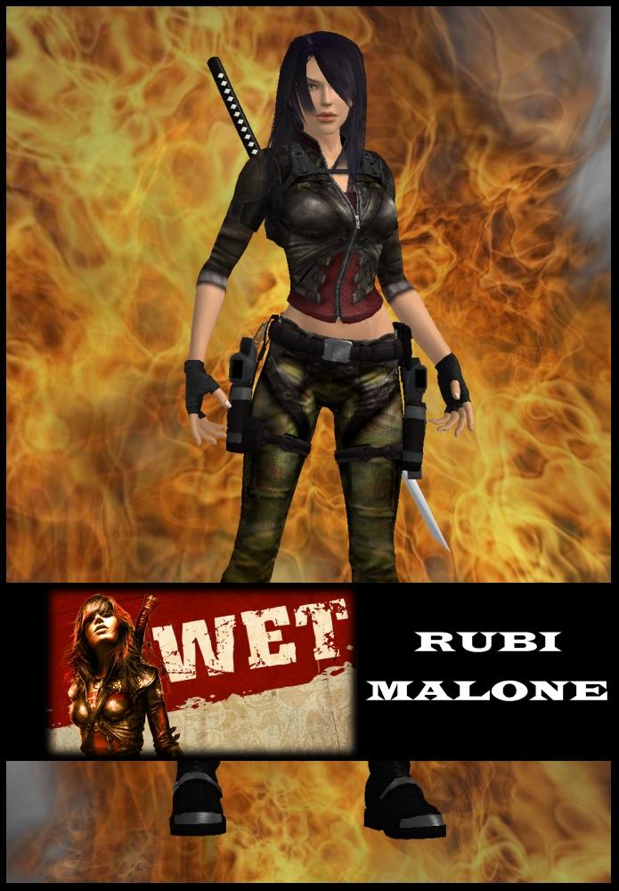 Lara Croft As Rubi Malone By Lararules81 On Deviantart