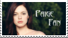 Paige Fan Stamp by LaraRules81