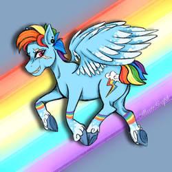 Rainbow Dash - G5 (My version)