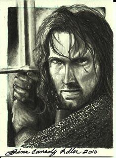 Aragorn by JadeRunya