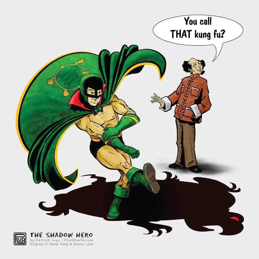 Shadow-hero by PLUGO