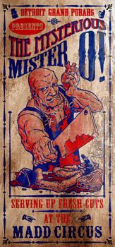 Mr O -   Madd Circus Poster
