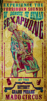 Dom Gui - Madd Circus Poster