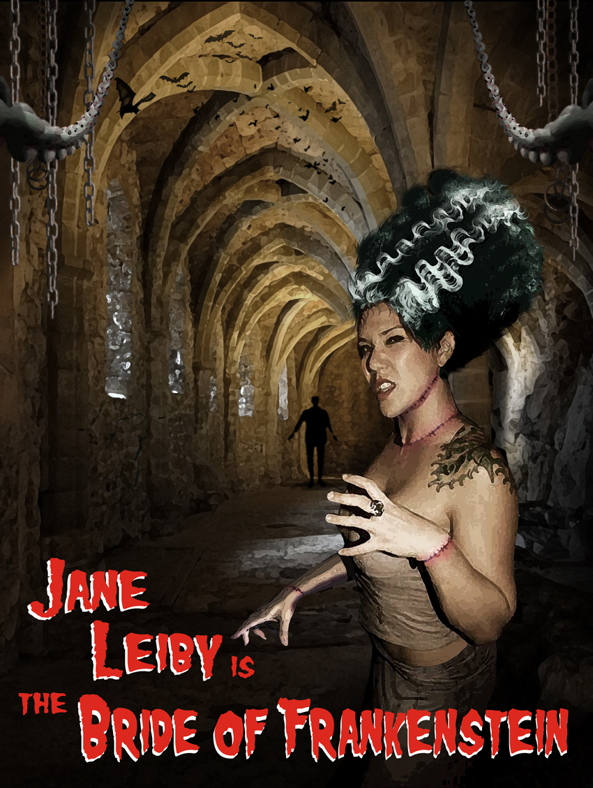 Jane of Frankenstein by TonyGCampagna