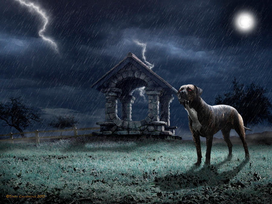 The Hound of the Baskervilles by TonyGCampagna