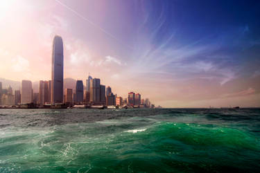 HongKong island by garki