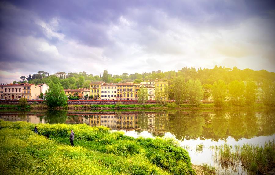 Somewhere in Florence by garki