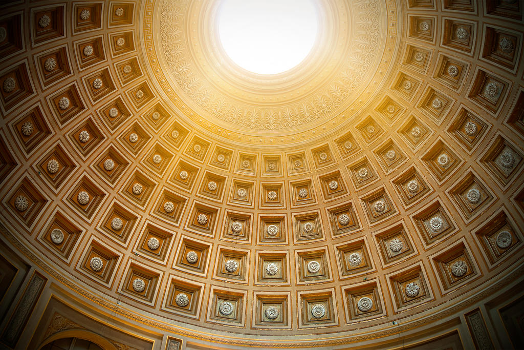 Dome of Vatican by garki