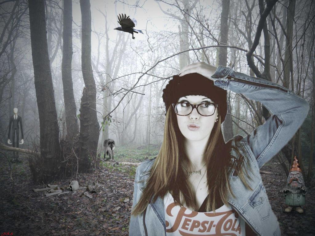 Perdida en el bosque by EscribaRegio