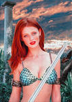 Cintia Dicker como Red Sonja