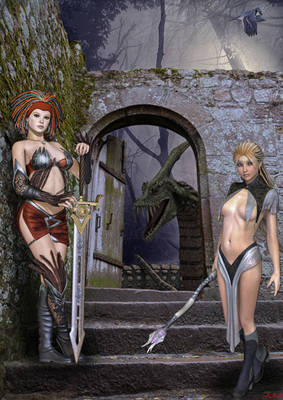 Espada y brujeria: Hora de exterminar al dragon