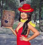 Carmen Sandiego Becky G y el Necronomicon ExMortis