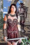 Xena Cassandra Nix y el minotauro negro
