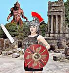La guerrera y el ciclope