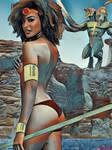 Diana la Acrobata y Demogorgon
