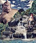 Red Sonja y el ciclope by EscribaRegio