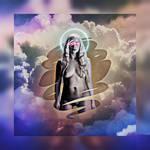 Daenerys Retrowave by EscribaRegio