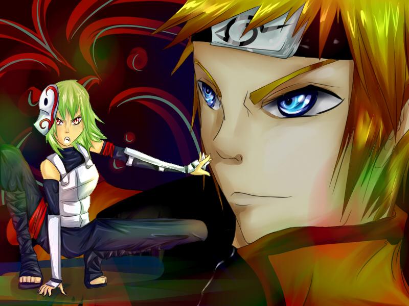 :Request: Naruto + Fu + Rainbow Vomit by dogstitch on DeviantArt