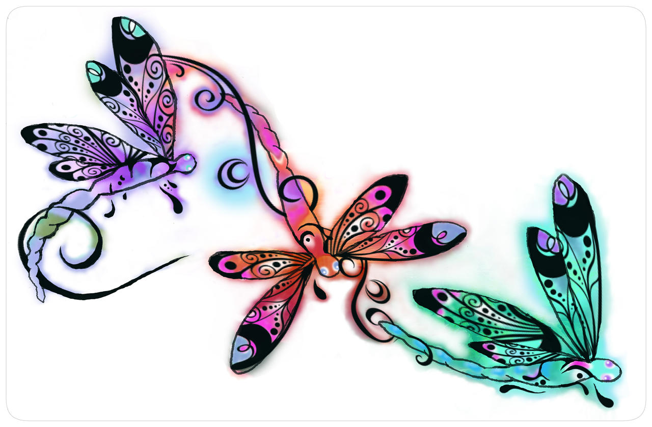 Dragonfly laptop skin by kkyak1 on DeviantArt