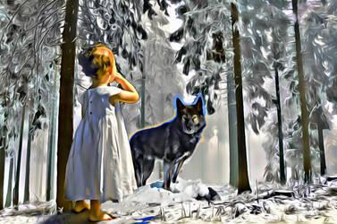 Bebe in the Woods by kkyak1