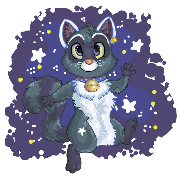 Super galactic raccoon by HappyCrumble