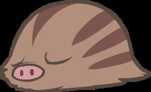 220. Swinub by HappyCrumble