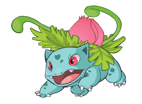 Ivysaur by HappyCrumble