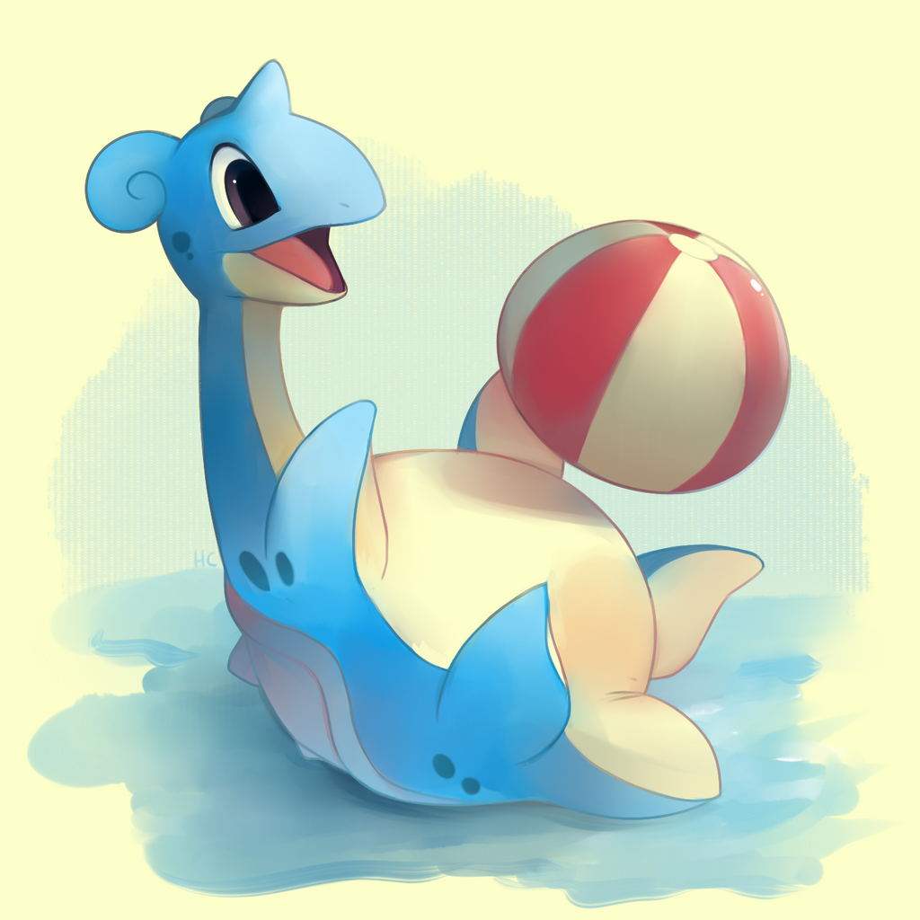 Happy Lapras by HappyCrumble