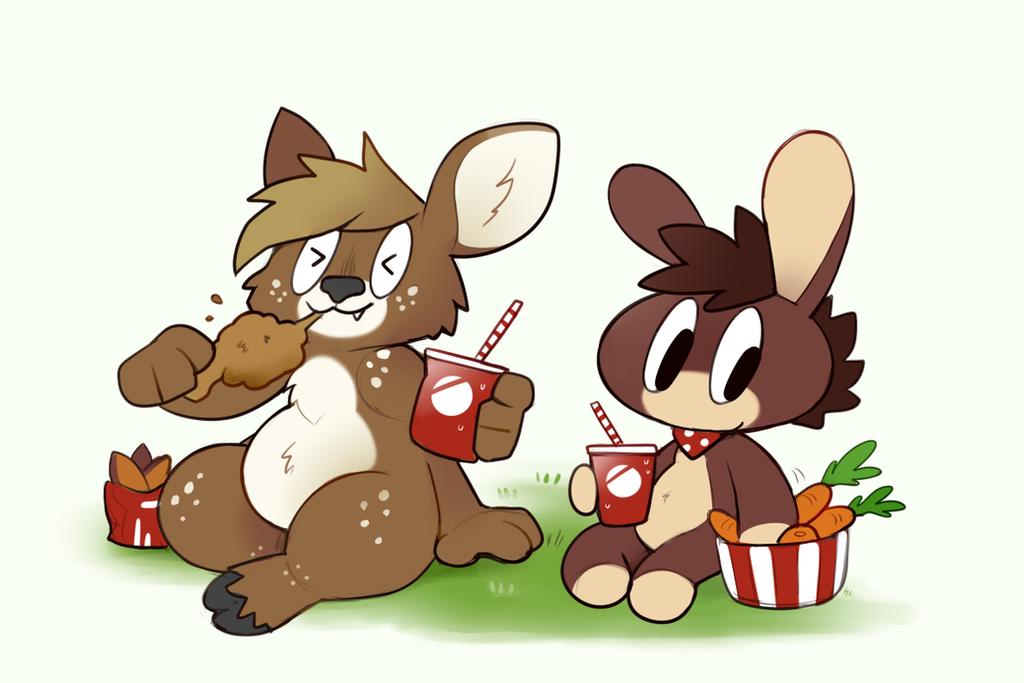 Lunchbreak by HappyCrumble