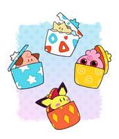 Bundle of Presents by HappyCrumble