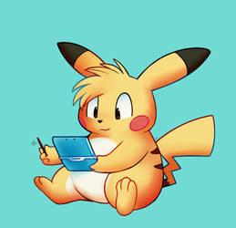 Siggittarius Pikachu by HappyCrumble