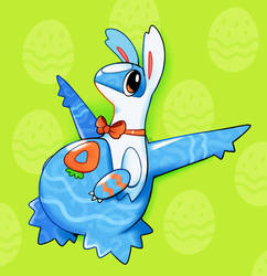 Easter Egg Latios by HappyCrumble