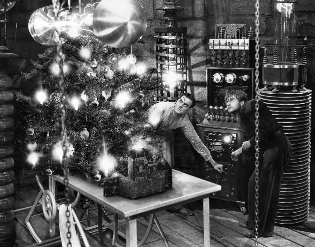 It's Alight - Frankenstein Christmas - 1932 by elron-cupboard on ...