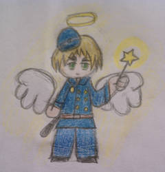 Hetalia Heaven - The Policeman by BekBoo20